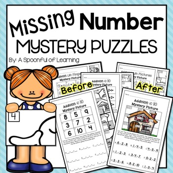 Missing Number Mystery Puzzles
