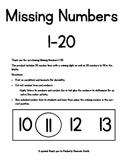 Missing Number Number Lines