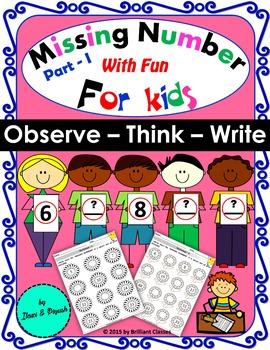 Missing Number_Part - I - Observe – Think – Write