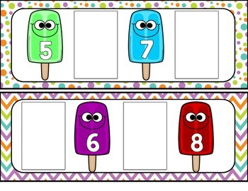 Missing Number Popsicles