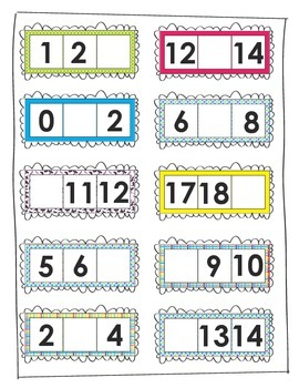 Missing Number Practice (0-20)