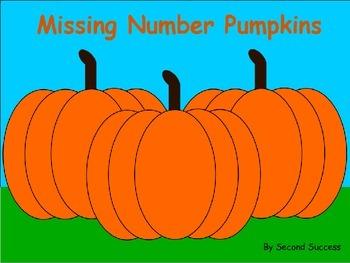Missing Number Pumpkins