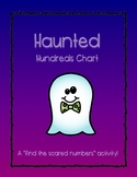Missing Number Puzzles - Haunted Hundreds version