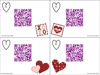Missing Number QR Code Cards for February