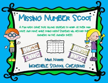 Missing Number Scoot!