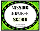 Missing Number Scoot (2nd Grade MCLASS Math)