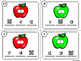 Missing Number Scoot Apple Theme (Numbers Up To 20) With A