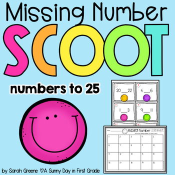Missing Number Scoot! {#s to 25}