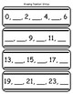 Missing Number Strips