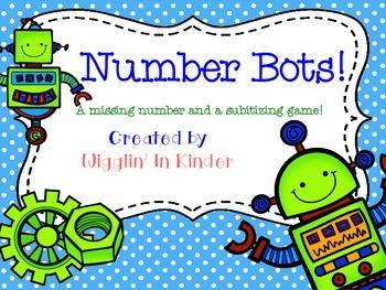 Missing Number & Subitizing Sets - Number Sets - {3 Levels}
