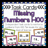 Missing Number Task Cards (Numbers 1-100)