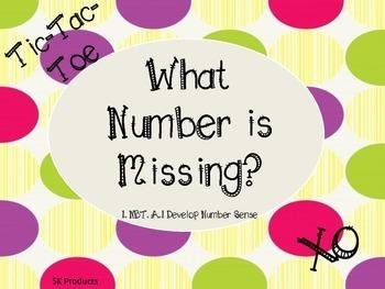 Missing Number Tic-Tac-Toe