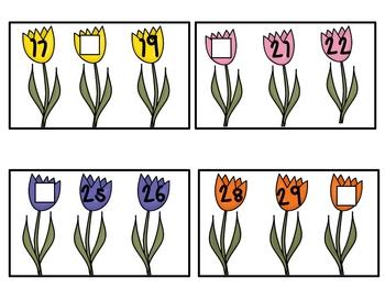 Missing Number Tulip