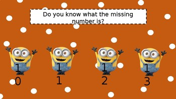 Missing Number game