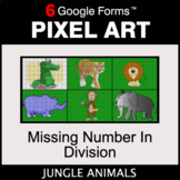 Missing Number in Division - Pixel Art Math | Google Forms