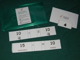 Missing Number subtraction sentences to 10-math center-file folder game