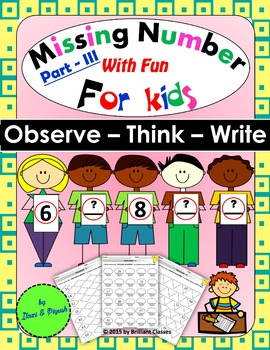 Missing Number_Part - III - Observe – Think – Write