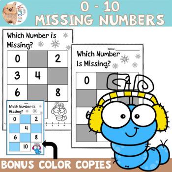 Missing Numbers 0 - 10