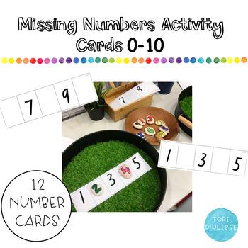 FREEBIE Missing Numbers 0-20