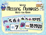 Winter Missing Numbers 0-20