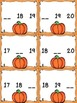 Missing Numbers 0 - 20 Pumpkin Themed