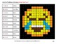 Missing Numbers 1-100 - Emoji Color By Number - Math Mystery Pictures
