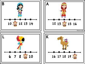 Missing Numbers 1-20 Aladin