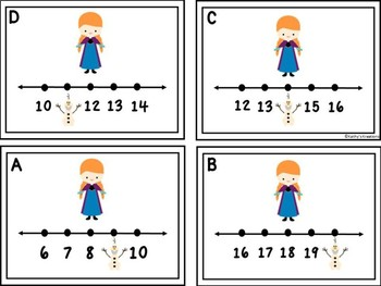 Missing Numbers 1-20 Anna