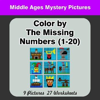 1-20 Missing Numbers Worksheet | Teachers Pay Teachers