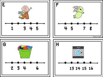 Missing Numbers 1-20 Groundhog *Plus Bonus Missing Number Set