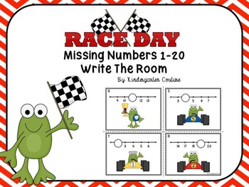 Missing Numbers 1-20 Race Day