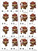 Missing Numbers 1-20 Roll, Say, Keep Firefighter Owls