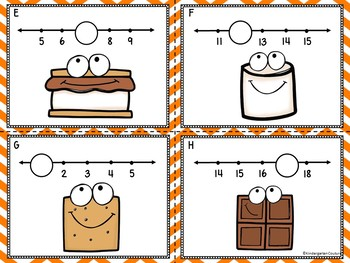 Missing Numbers 1-20 Smore Fun Write The Room