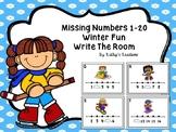 Missing Numbers 1-20  Winter Fun