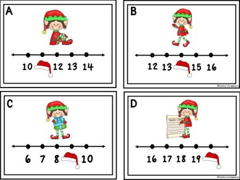Missing Numbers 1-20 Write The Room Little Elf