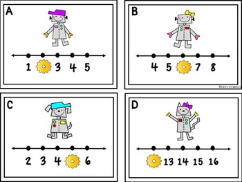 Missing Numbers 1-20 Write The Room Robot Friends
