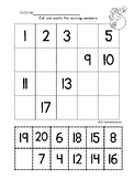 Missing Numbers 1 to 20