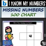 Missing Numbers 100 Chart Set 1 Boom Cards™