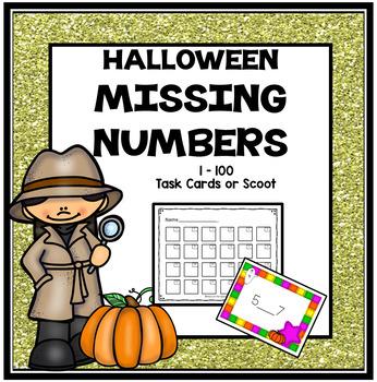 Halloween Activities * Halloween Math * Halloween Math Center