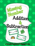 Missing Numbers-Addition & Subtraction