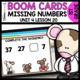 Missing Numbers BOOM CARDS | DIGITAL TASK CARDS | Module 4