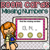 Missing Numbers Boom Cards