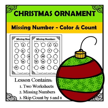 Missing Numbers - Christmas