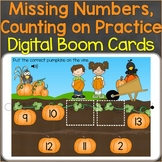 Missing Numbers, Counting On, Number Sequencing Fall Digit