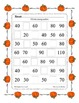 Missing Numbers ~ Counting by 10 Work Sheet ~ Thanksgiving Halloween Easter Plus