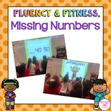 Missing Numbers Fluency & Fitness Brain Breaks Bundle