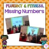Missing Numbers Fluency & Fitness Brain Breaks