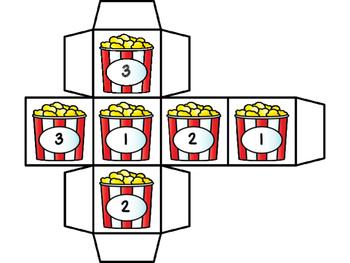 Missing Numbers Game Numbers 1-20 -Popcorn