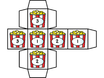 Missing Numbers Game Numbers 1-20 -Popcorn
