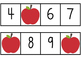 Missing Numbers Game with Apples